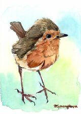 ACEO Limited Edition - Little robin