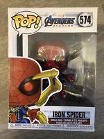 Funko Pop Marvel Comics 574 Iron Spider Avengers Endgame Spider-Man Figure