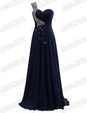Long Chiffon Evening Gown Prom Cocktail Party Bridesmaid Formal Dresses 6-26