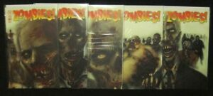 ZOMBIES FEAST Issues 1 2 3 4 5 complete set IDW Comics LOT