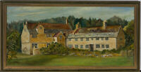 J. Coy - Signed 20th Century Oil, Mottistone Manor