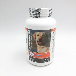 Cosequin For Dogs Max Strength Joint Health Supplement 132 Chew Tablets Exp12/22