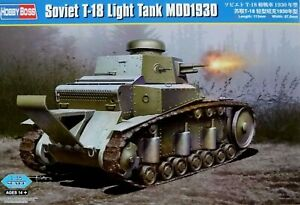 Hobbyboss 1:35 T-18 Mod.1930 Soviet Light Tank Model Kit