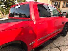 2009-2018 Dodge Ram 1500/2500 Rear Sliding Window Tailgate Trim Molding Decal 2P