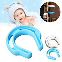 Door Finger Safety Guard Slip On Bumper Stop Child Baby Pet Protect Proof New GA