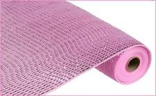 Deco Mesh Pink Wide Foil 21 in 10 yards cb16cs re104122  NEW