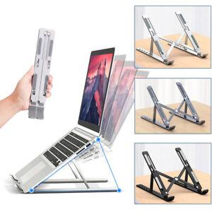 Adjustable Foldable Laptop Stand Desk Portable Notebook Computer Tablet Holder