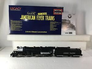 SUPERB AMERICAN FLYER S SCALE 48181 UNION PACIFIC 2-8-8-2 LEGACY Y3 RAILSOUNDS