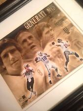 RARE Peyton Manning Generations Photo Football USPS Licensed Archie Eli NFL 2004