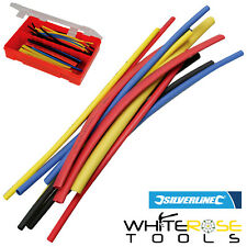 Silverline Heat Shrink Cable Wire Wrap Tubing Sleeving Electrical 95pc