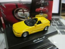 Kyosho - Alfa Romeo Collection 2 - RZ - Yellow - Scale 1/64 - Mini Car A14