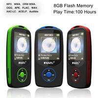 64G Support RUIZU X06 Bluetooth Sport MP3 Player TF Card Music Media 1.8 TFT LK