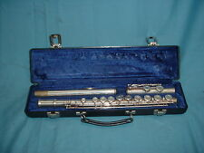 #2 Gemeinhardt Elkhart 2SP Silver Plated Flute with Case