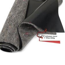 SIKA Premium PVC Teichfolie 1mm schwarz+Teichvlies V500 6m br. Länge wählbar