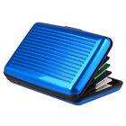New RFID Blocking Aluminum Credit Card Holder Aluma Wallet Hard Case Anti Scan