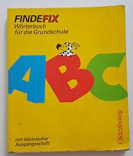 FINDEFIX Wörterbuch GRUNDSCHULE mit lateinischer Ausgangsschrift GUT