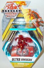 READ LISTING!! Bakugan *PYRUS TRANSLUCENT DRAGONOID* Geogan Rising Figure 2021