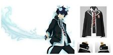 Ao no Blue Exorcist Rin Okumura Cosplay Costume Jacket and Tie