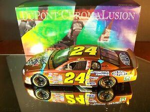 Jeff Gordon #24 Dupont Chromalusion Autographed 1998 Chevrolet Monte Carlo 1:24