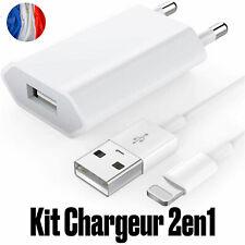 chargeur recharge SYNC + Câble renforcé iPhone 5,6,7,6Plus,SE,Ipod Touch