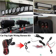 Remote Control Wiring Harness Strobe Switch Relay LED Fog Light Bar Kit 12V