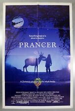 PRANCER -SAM ELLIOTT / CLORIS LEACHMAN- ORIGINAL AMERICAN ONE SHEET MOVIE POSTER