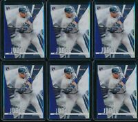 2017 Topps Finest Aaron Judge RC #2 Rookie 6 Card Lot New York Yankees NYY