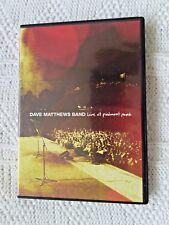Dave Matthews Band - Live At Piedmont Park (DVD, 2-DISC SET) R-ALL, LIKE NEW