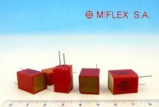 14x < 8250pF 63V > Miflex Precise Capacitors / Nos