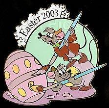 Disney Auctions Easter Gus & Jaq LE Pin