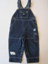 OshKosh B'Gosh 24m Denim Overall Jeans Boy Girl Polar Bear Jumper Childs Kids