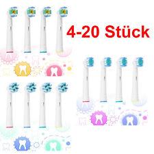 Aufsteckbürsten Ersatzbürsten ersatz Bürsten kompatibel mit Oral B Zahnbürsten