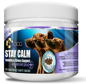 DR DOG Anxiety Stress Calming Supplement - Soft Chews treats dogs tablets