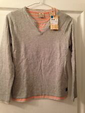 PULL + T.SHIRT GRIS ET ORANGE 'SCOTCH SHRUNK' 10 ANS NEUF + ETIQ 75€