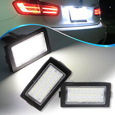 Led License Plate Light White Lamps for BMW E38 Canbus 7 Series 740i 740iL 750iL