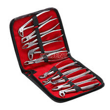 Dental Tooth Extracting Forceps Surgical Extraction for Adult 10 pcs /set