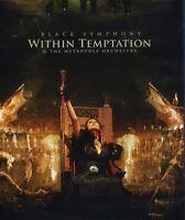 """WITHIN TEMPTATION """"BLACK SYMPHONY"""" BLU RAY+DVD NEU"""