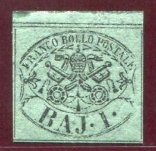 Francobolli italiani di antichi stati verde