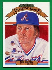 1982 Donruss Diamond Kings Phil Niekro #10 Atlanta Braves