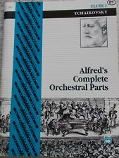 Tchaikovsky Symphonies Complete Orchestra Parts Flute Unmarked