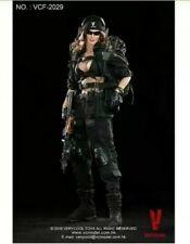 "VERYCOOL VCF2029 1:6 Female Shooter ""Black"" Action Figure (SEALED!!)  US SELLER"