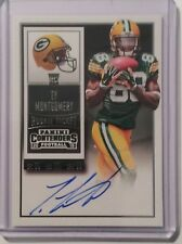 2015 Contenders Ty Montgomery Rookie Ticket Auto Packers
