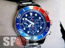 Seiko Solar Quartz Chronograph Men's Watch SSC019P1 SSC019