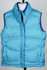 REI Reversible Girls Puffy Vest Size Medium (10-12) - Teal and Navy