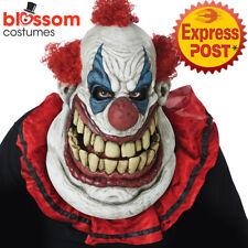 AC256 Fatty Clown Big Face Halloween Ani Motion Horror Scary Evil Costume Mask