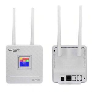 Router 4G 3G Mobile Hotspot WAN/LAN porta Antenne Esterne