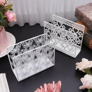 Hollow Napkin Holder Paper Towel Dispenser Tissue Rack Party Table Decor