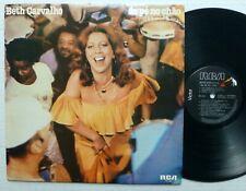 BETH CARVALHO De Pe No Chao LP Brazil press SAMBA 1978 jazz w/ Insert  Aa68