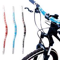 For DH XC 780MM MTB Mountain Bike Handlebar Alloy Cycle Bicycle Riser Bar 31.8mm