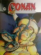 CONAN 1 la torre dell'elefante - chiaro scuro, Marvel Comix Italia 1996